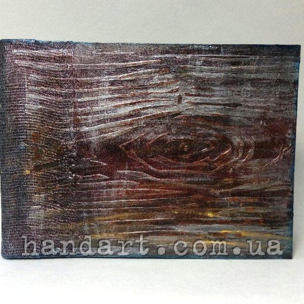 "Блокнот ""Дерево"" обложка с имитацией дерева"