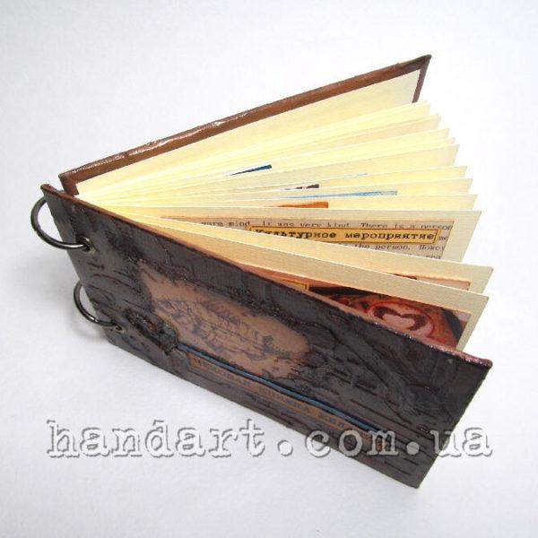 """Чековая книжка """"Медная рыбка"""" листы книжки"""