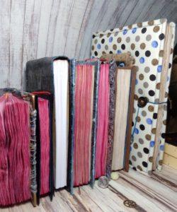 Разные блокноты ручной работы